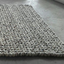 Natural Stone Rectangle Felt Ball Rug - Felt Ball Rug Australia - 2