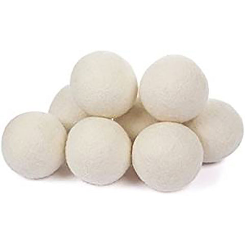 Organic Eco Wool Dryer Balls -8 Pack