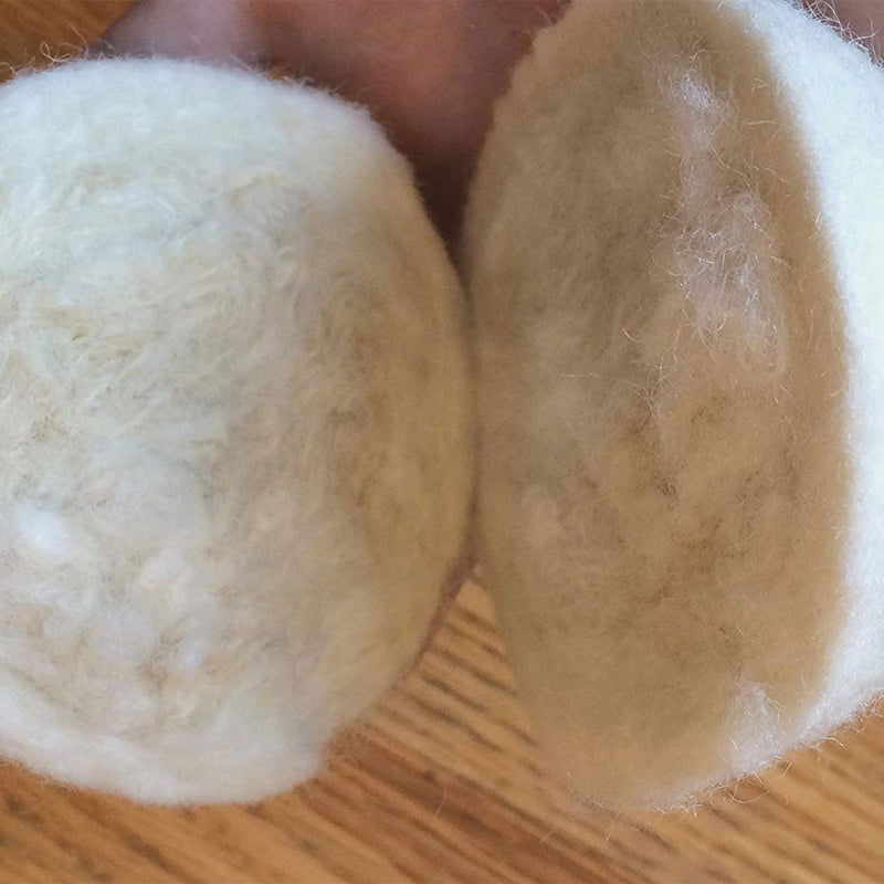 wool dryer ball quality check