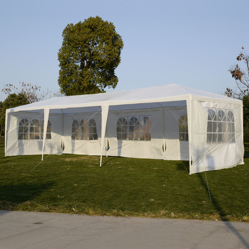 10'x30' Party Wedding Outdoor Patio Tent Canopy Heavy Duty