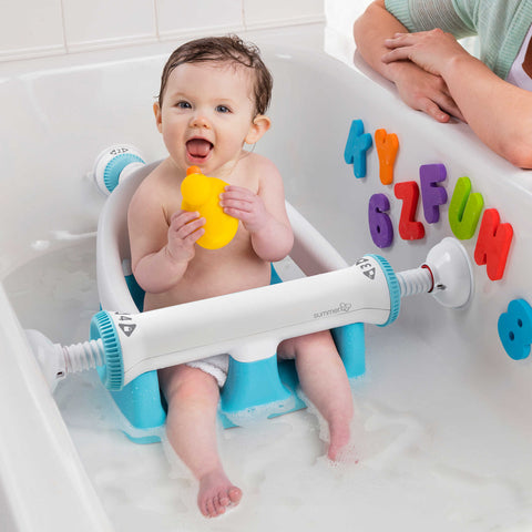 NEW Adjustable Sturdy Infant Baby Toddler Bath Tub Ring Seat ...