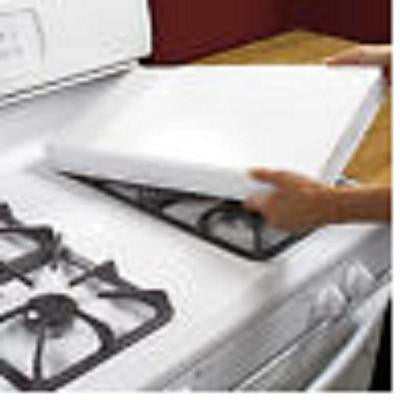 gas stove burner heavy duty white rectangular gas stove burner covers extra deep fits most ranges vicks great deals