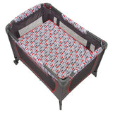 Disney Mickey Baby Portable Play Pen with Bassinet n Diaper Changer