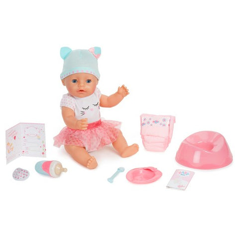 Baby Born Interactive Talking,Moving,Crying, Wetting,Eating and Drinking Baby Doll