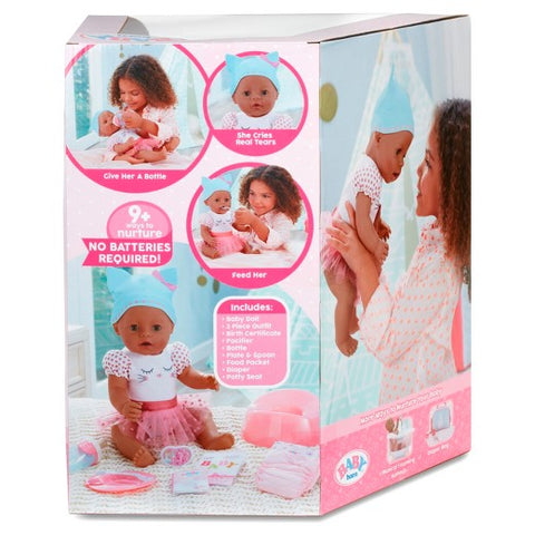 Baby Born Interactive Talking Moving Crying Wetting Eating And