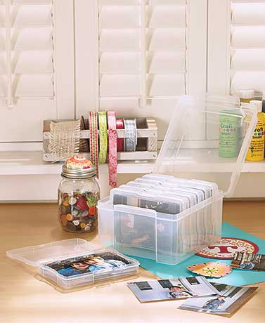 600 Photo Storage Keeper Saver Organizer Case