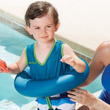 Infant, Baby, Toddler Swimming Pool Inflatable Safety Float TubeTrainer Swimsuit