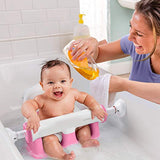 NEW Adjustable Sturdy Infant Baby Toddler Bath Tub Ring Seat