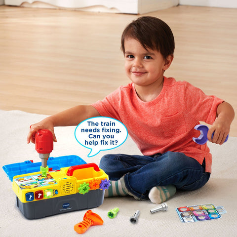 Fine Kids Baby Toddlers V Tech Educational Drill And Learn Caraccident5 Cool Chair Designs And Ideas Caraccident5Info