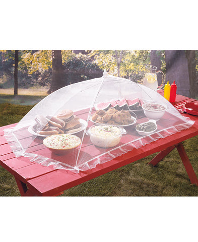Extra Large Jumbo Outdoor Picnic Camping Portable Party Food Mosquito Fly Pest B