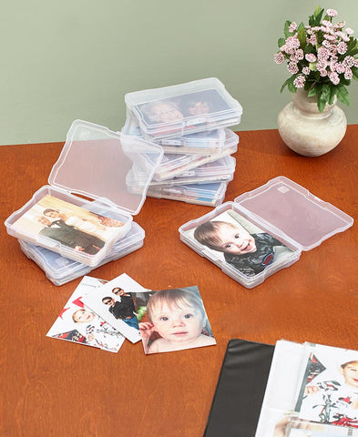 4 x 6 Photos Acid Free Photo Keeper Saver Organizer Set