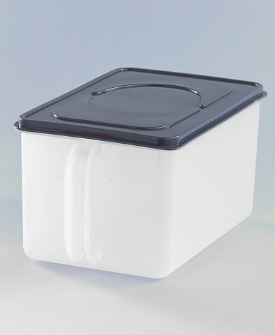 Modular Extra Large Canister Stackable Bulk Food Storage Container with Airtight Lids