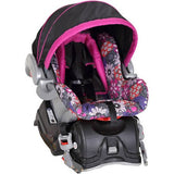 Purple Baby Gear Bundle, Stroller Travel System, Play Yard, High Chair,Swing & Diaper Bag