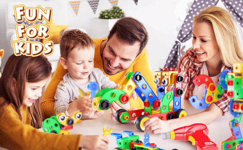 NEW Kids STEM Educational Jr. Engineer Motorized Construction Toy Play Set