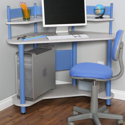 Kids Student Small Compact Computer Desk And Chair Vick