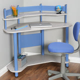 Kids Student Small Compact Computer Desk and Chair