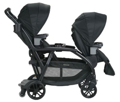 graco double twin stroller balancing act 4 large