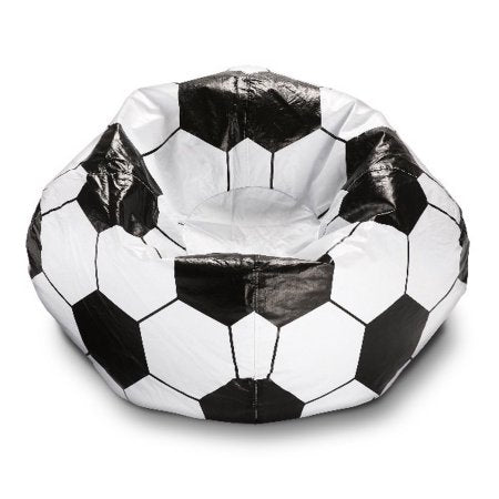 Kids Children Teens Soccer Ball Bean Bag Chair Bedroom Playroom Game u2013 Vicku0027s Great Deals  sc 1 st  Vicku0027s Great Deals - Shopify & Kids Children Teens Soccer Ball Bean Bag Chair Bedroom Playroom ...