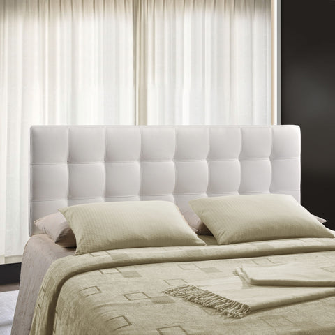Upholstered Tufted, Padded Textured Fabric, and Vinyl