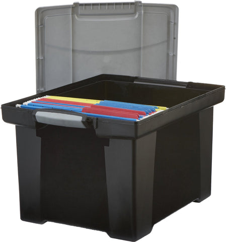Locking Handles, Letter and Legal Size File Storage Box