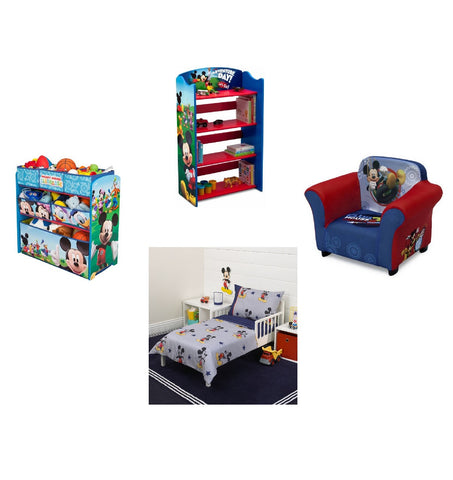 Kids,Toddler Bedroom Furniture 4 Piece Bedding Set