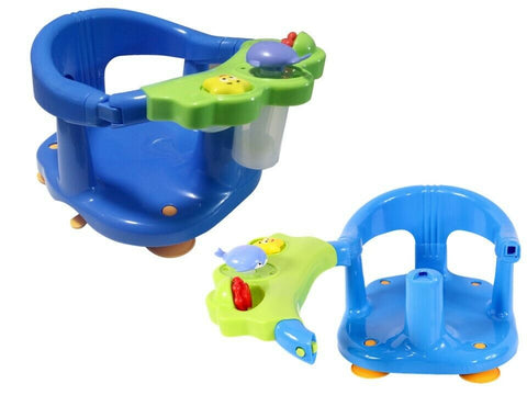 NEW Adjustable Sturdy Infant Baby Toddler Bath Tub Activity Center Ring Seat