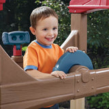 Step 2 Outdoor Playground Creativity Alpine Ridge Climber & Slide Activity Center