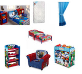 Toddler Character Bed Mattress and Complete Bedding Bedroom Bundle Set