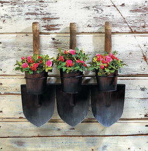 3 Shovels Wall Planter
