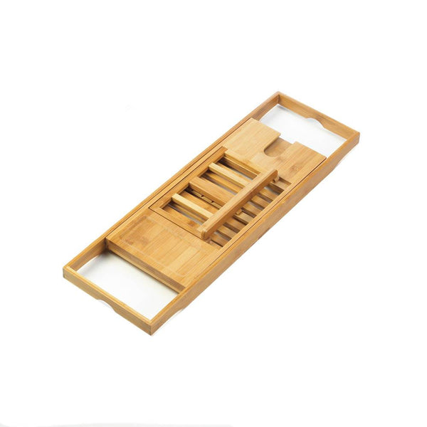 Bamboo Bath Caddy - Yolis Beauty Barn
