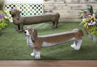 Basset Hound Doggy Bench - Yolis Beauty Barn