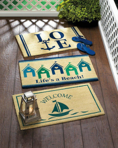 Beach House Doormat - Yolis Beauty Barn