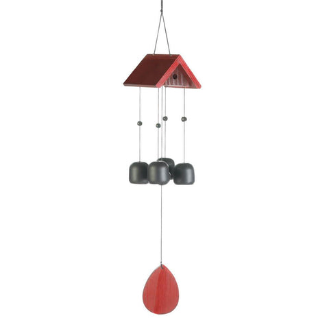 Birdhouse Roof Wind Chime - Yolis Beauty Barn