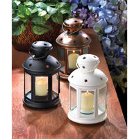 Black Colonial Candle Lamp - Yolis Beauty Barn