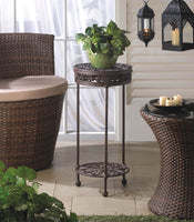 Cast Iron Round Plant Stand - Yolis Beauty Barn