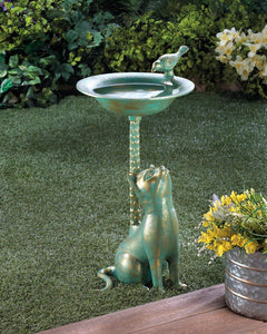 Cat Birdbath - Yolis Beauty Barn
