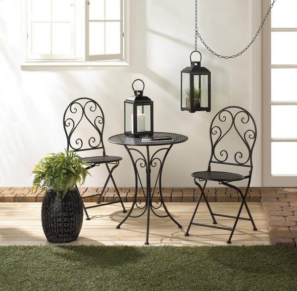Chic Iron Bistro Set
