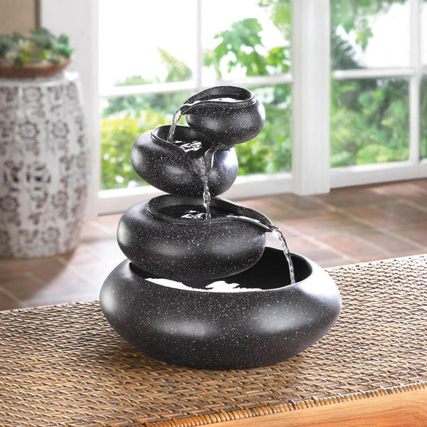 Four-Tier Tabletop Fountain - Yolis Beauty Barn