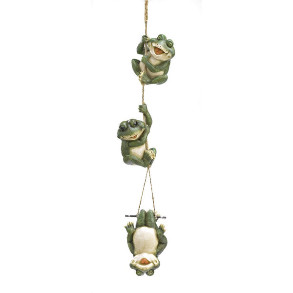 Frolicking Frogs Hanging Decoration - Yolis Beauty Barn