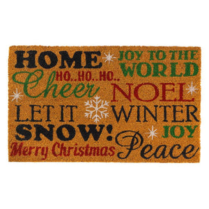 Holiday Cheer Doormat