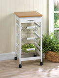 Kitchen Side Table Trolley - Yolis Beauty Barn
