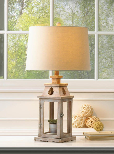 Lantern Table Lamp - Yolis Beauty Barn
