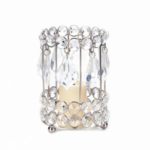 Large Crystal Drop Candle Holder - Yolis Beauty Barn