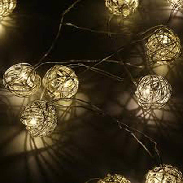 LED Wire Ball String Light