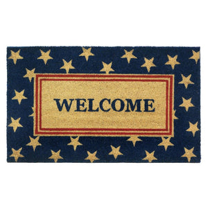 Patriotic Welcome Mat - Yolis Beauty Barn