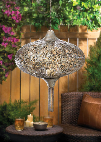 Plume Hanging Candle Lamp