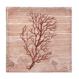 Sea Swept Coral Canvas Wall Art - Yolis Beauty Barn