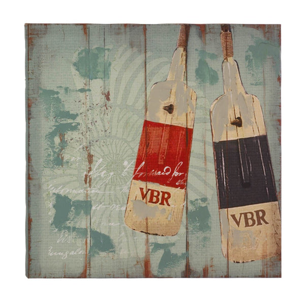 Seaworthy Oars Canvas Wall Art - Yolis Beauty Barn