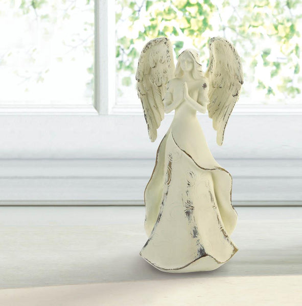 Strength In Prayer Angel Figurine