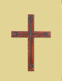 Wood and Iron Wall Cross - Yolis Beauty Barn